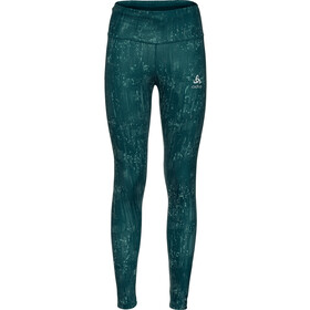 Odlo Zeroweight Print Reflective Leggings Dames, submerged/reflective graphic20